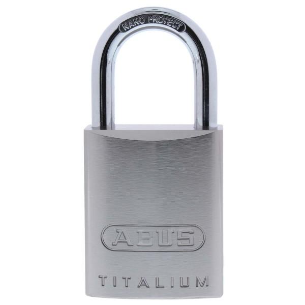 ABUS Titalium 86TI/45 Vorhangschloss ohne Zylinder für Halbzylinder