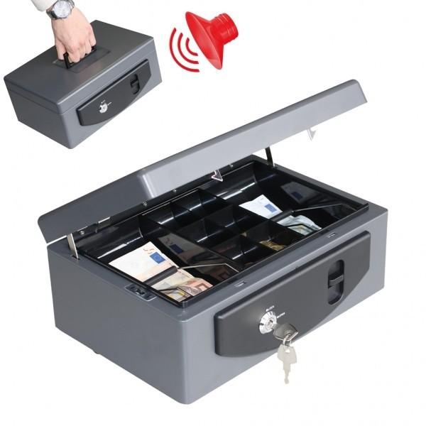 Geldkassette mit Alarmfunktion 2 Schlüssel GKA 150