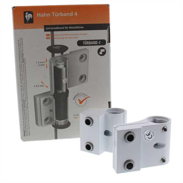 Dr. Hahn Türband A901 30/20/65 2-teilig RAL 9016 weiß Universalband Serie 4 A901G0183