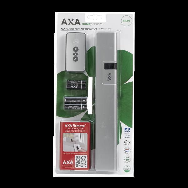 AXA Remote 2.0 Fensteröffner mit Fernbedienung Kippflügelfenster grau weiß alu-line