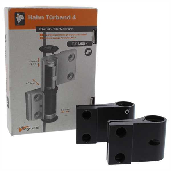 Dr. Hahn Türband 4 TB4 A921 20/103 2-Teilig elektrobraun A921RW000