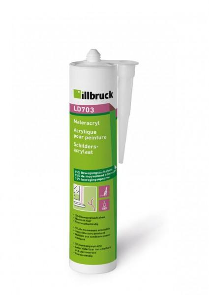 Illbruck Maleracryl LD 703 weiss 310ml Kartusche 395144