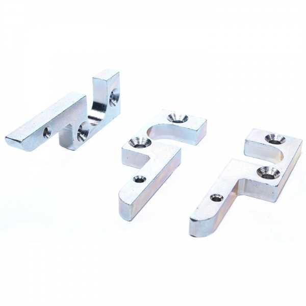 AUBI Kippschließblech Schließblech 4A83308 65x20mm Silber verzinkt - ToniTec® Reproduktion