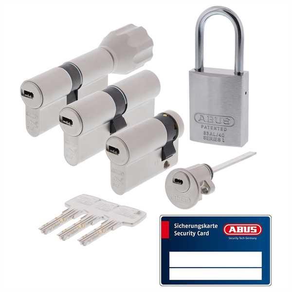 ABUS Profilzylinder EC660 ECK660 gleichschließend inkl. Sicherungskarte