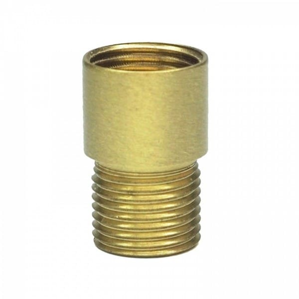 ToniTec® Türspion Verlängerung Verlängerungsstück Spionverlängerung Durchmesser 14mm Länge 10mm messing