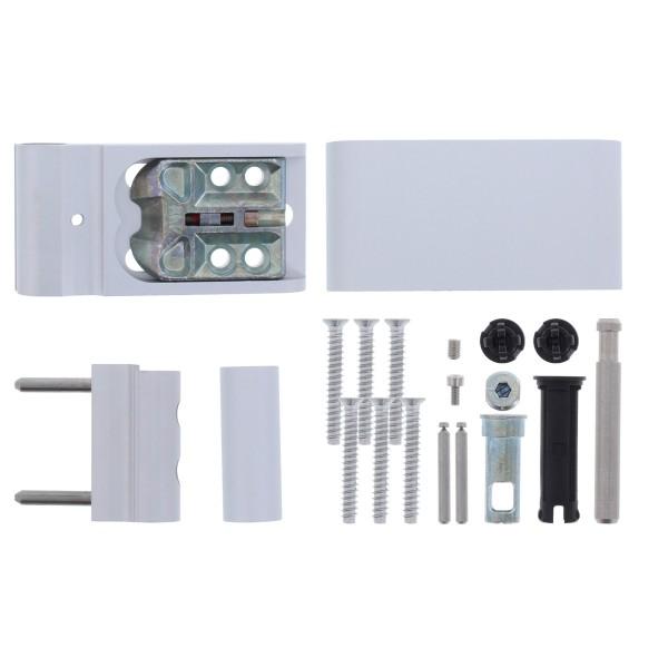 ROTO Haustürband Solid S Türband 117 NN 19-21,5 mm EV1 silberfarbig 729807
