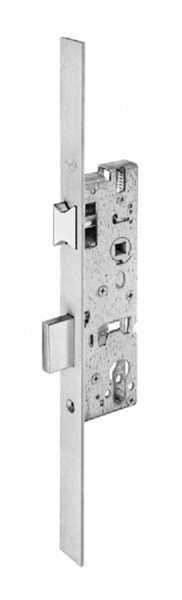 WILKA 1438 Rohrrahmen-Einsteckschloss PZ 8mm Nuss Falle umlegbar Reparaturstulp Länge 380mm