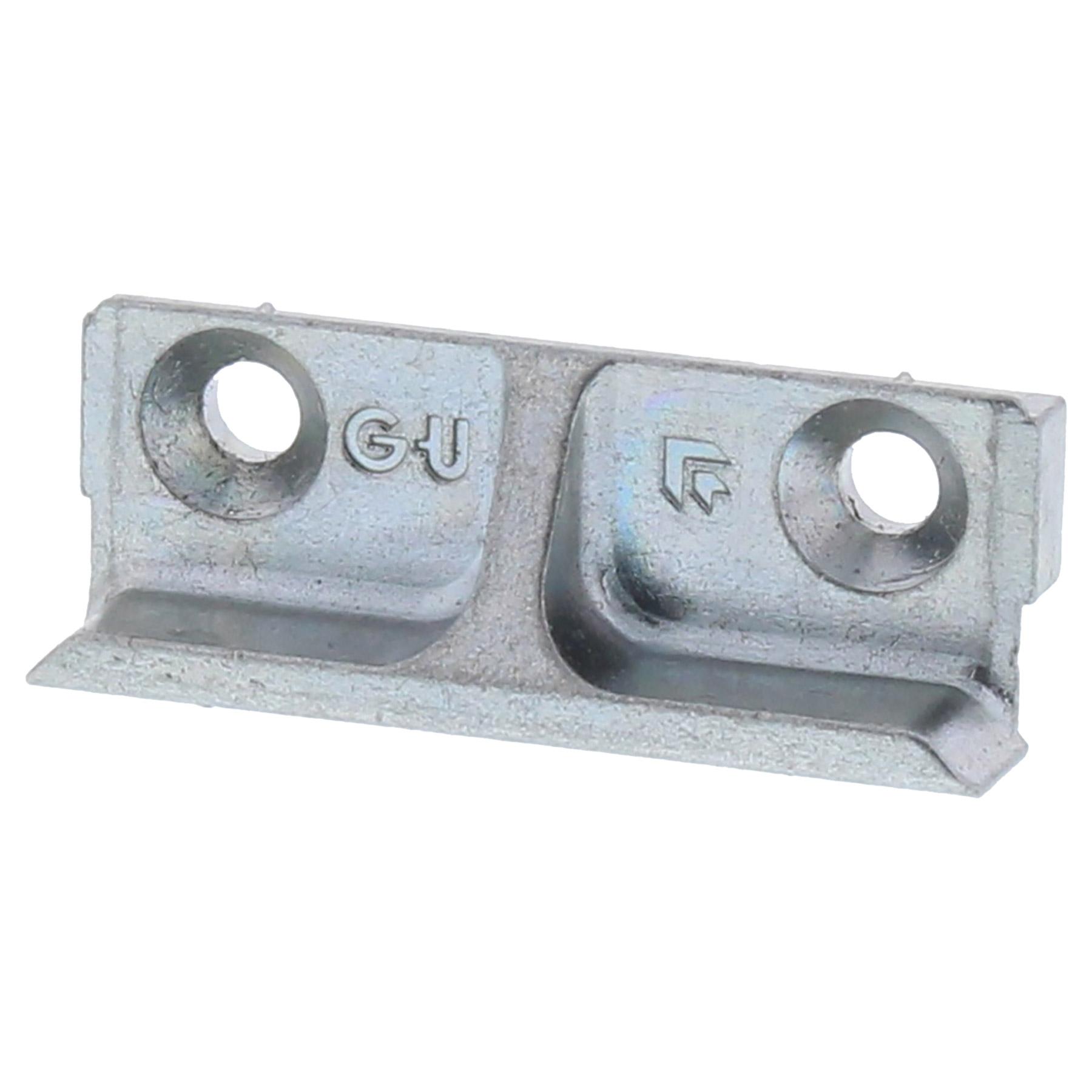 Gu 8 184 schlie blech schlie platte schliessblech for Fensterbeschlage ersatzteile