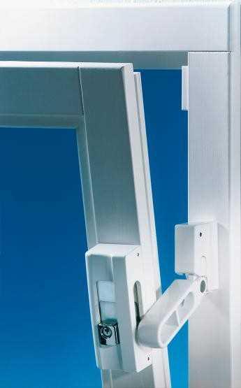 Burg-Wächter BlockSafe BS2 Türsicherung weiß braun verschiedenschliessend & gleichschliessend